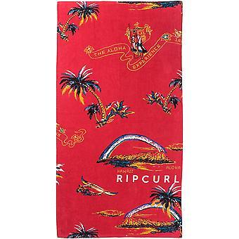 Rip Curl Corpo Ręcznik plażowy w jaskrawoczerwonym