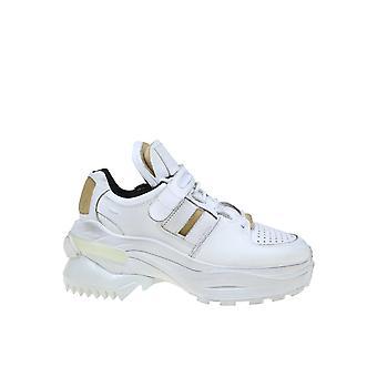 Maison Margiela S39ws0037p2082h1609 Women's White Leather Sneakers
