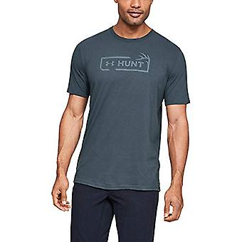 Under Armour Hunt Icon Short-sleeve Shirt,, Wire (073)/Ash Gray, Size X-Large