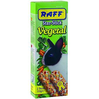 Raff Stick Vegetal Rabbit  (Small pets , Treats)