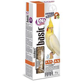 Lolo Lolo 2 Barritas Nueces 90 Grs Ninfas (Birds , Bird Treats)