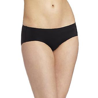 Maidenform Womens Comfort Devotion Hipster Panty,, Black/Body Beige, Size 7.0