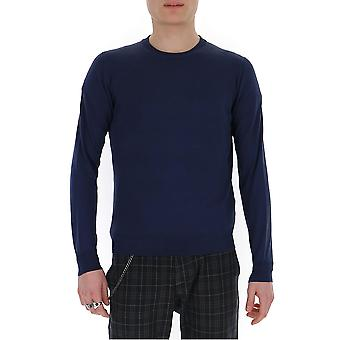 Ballantyne Q2p0001450613507 Mannen's Blauwe Katoenen Trui