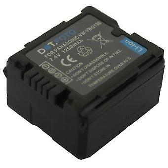 Bateria Dot.Foto Panasonic VW-VBG130 - 7.2 v ~ 7.4 v / 1250mAh