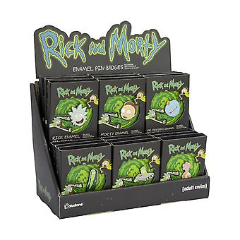 Rick & Morty Adult Swim Enamel Pin Badge Blind Bag Clothing Backpack Accessories