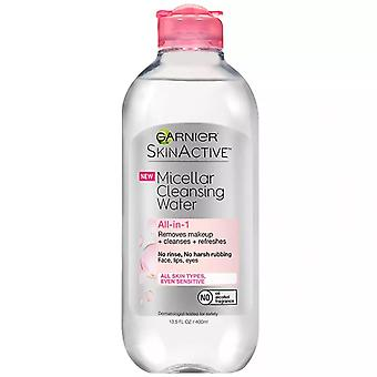 Garnier skinactive micellar cleansing water, for all skin types, 13.5 oz