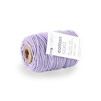 Vivant Cord Cotton fine lilac - 50 MT 2MM