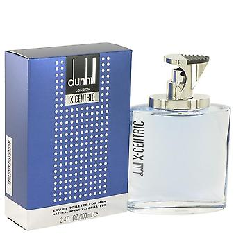 Centrada em X Eau De Toilette Spray por Alfred Dunhill 3,4 oz Eau De Toilette Spray