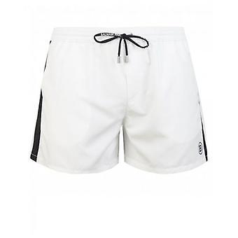 Balmain Logo Embroidered Swim Shorts