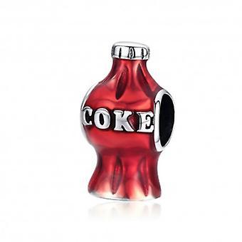 Sterling Sølv Charm Cola Flaske - 6150