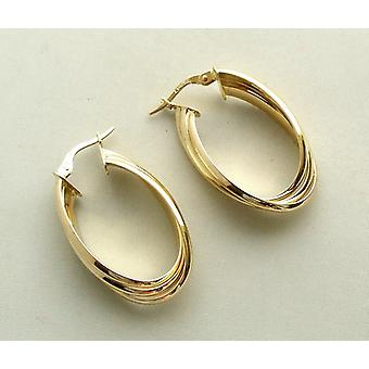14 carat Christian earrings