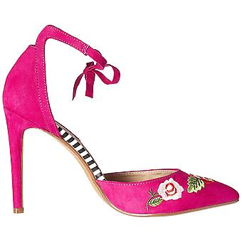 Betsey Johnson Womens abbie Closed Toe Ankle Wrap Classic Pumps