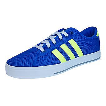 Adidas Neo quotidienne lier les formateurs Mens chaussures - Blue