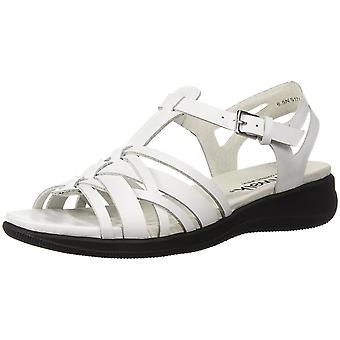 SoftWalk Womens taft Leather Open Toe Casual Ankle Strap Sandals