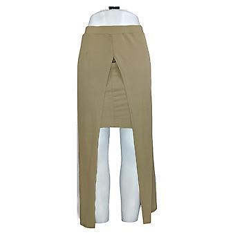 G.I.L.I. got it love it Skirt Matte Jersey Pull-On Maxi Green A266066