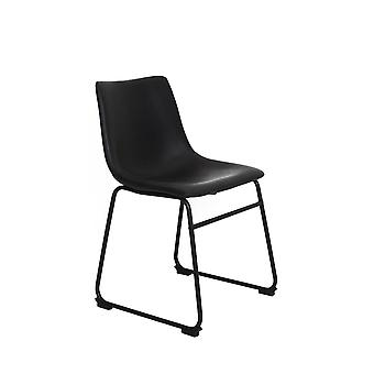 Light & Living Dining Chair 55x45x79cm Jeddo Black