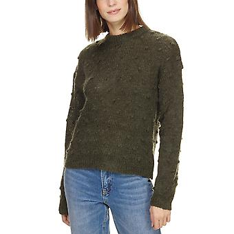 Minimum Women's Melani Pullover Textured Khaki