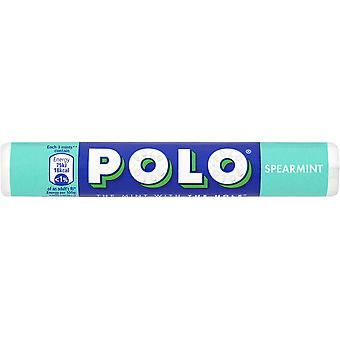NESTLE POLO Mints Box of 32 Rolls of 34g Tubes (Spearmint Mints)