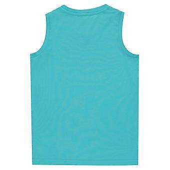 Slazenger Kinder Jungen ärmellose Sport T-Shirt Tank Top T-Shirt