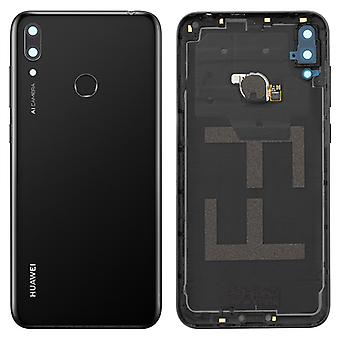 Original Housing part back cover, spare part for Huawei Y7 2019 - Black