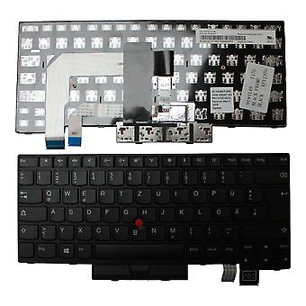 Lenovo ThinkPad T470s Black Frame Black Windows 8 German Layout Replacement Laptop Keyboard