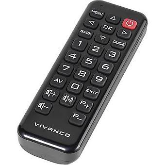 Vivanco RR Z 170 Controle remoto panasônico preto