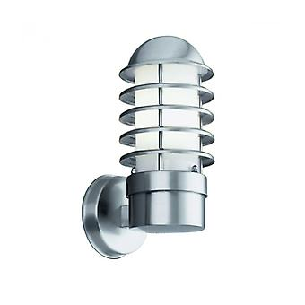 Outdoor Lights Wall Lamp 30 Cm, In Stainless Steel And Polycarbonate