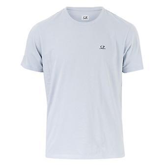 Men's C.P. Company Small Logo T-Shirt in Blue