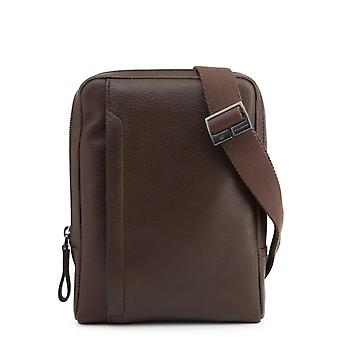 Homem piquadro bolsa de couro p40855