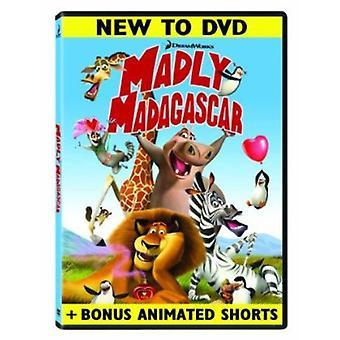 気が狂ったようにマダガスカル 【 DVD 】 米国をインポートします。