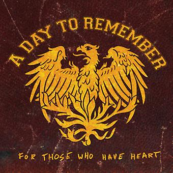 Day to Remember - For Those Who Have Heart [CD] USA import