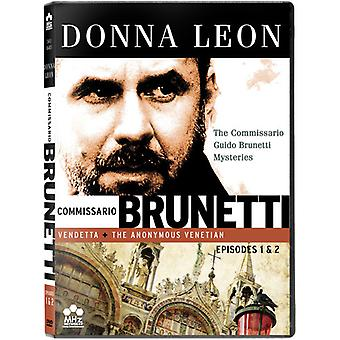 Commissario Guido Brunetti Mysteries: Ep 1 & 2 [DVD] USA import