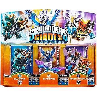 Skylanders Giants Adventure Pack - Gill Grunt - Flashwing & Double Trouble