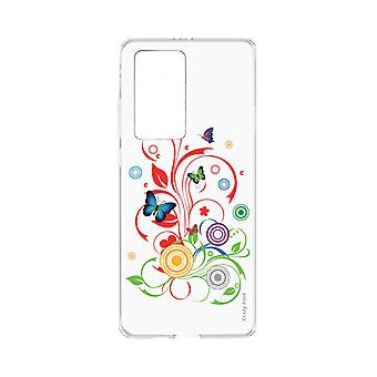 Hull For Huawei P40 Pro Supple Butterflies And Circles
