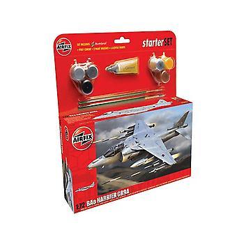 Airfix A55300 Harrier GR9 Starter Set 1:72-asteikko malli sarja
