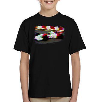 Motorsport Images Ayrton Senna Brazil 1993 Kid's T-Shirt