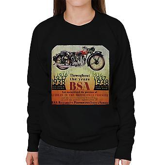 BSA Throughout The Years Women's Sweatshirt