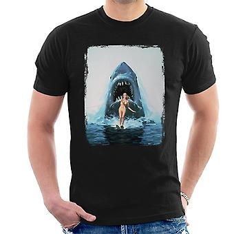 Jaws 2 Water Ski Men's T-Shirt