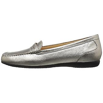 Trotters Women's Shoes Leather Square Toe Loafers