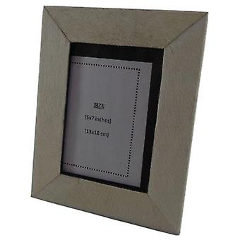 Deco4yourhome Cowhide Photo frame White