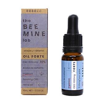 10% Hemp Extract Oil 10 ml of oil