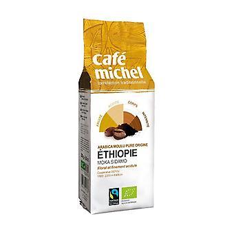 Sidamo ground coffee Ethiopia 250 g of powder