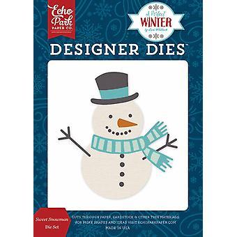 Echo Park Um designer de inverno perfeito morre doce conjunto de bonecos de neve