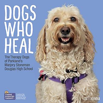 2021 Dogs Who Heal Wall Calendar by Workman Calendars