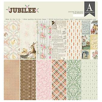 Authentique Jubilee 12x12 pulgadas De papel Pad