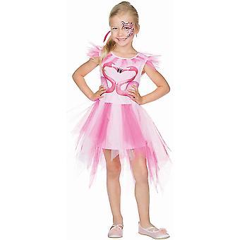Flamingo Kinder Kleid Vogel Pink Kostüm Tier