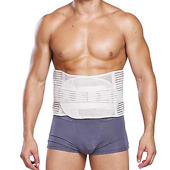 Herren Mesh atmungsaktive Bauch Körper Form Gürtel