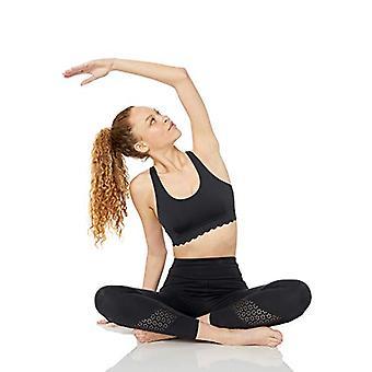 Core 10 Women's Studiotech Icon Series 'Scallop' Yoga Bralette Sports Bra, -B...