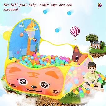 Foldable Cartoon Outdoor Sports Playground Kids Children Ocean Ball Pit Pool Baby Tent Ball Basket Gaming & Educational Toy