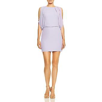 Halston Heritage | Cold Shoulder Sleeveless Mini Dress